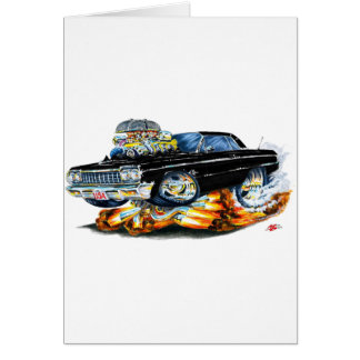 1964 Impala Black Car Card