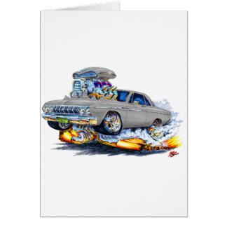 1964 Plymouth Grey Car Card
