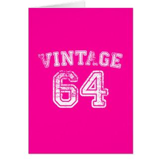 1964 Vintage Jersey Card