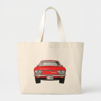 1965 Chevrolet Corvair Front View Large Tote Bag