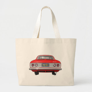 1965 Chevrolet Corvair Pass Envy Large Tote Bag