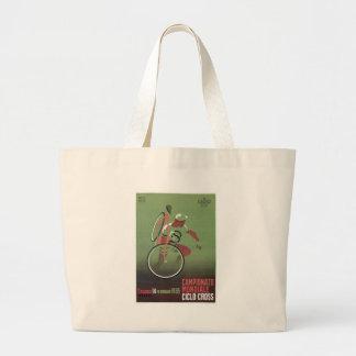 1965 Ciclo-cross Poster Large Tote Bag