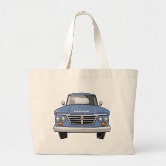 1965 Dodge Pickup Truck Large Tote Bag