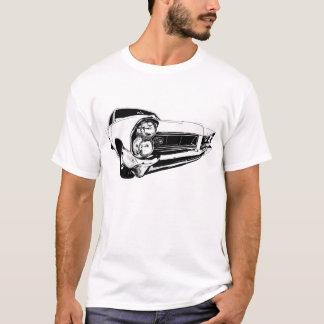 1965 Pontiac Grand Prix in White T-Shirt