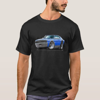 1966-67 Charger Blue Car T-Shirt