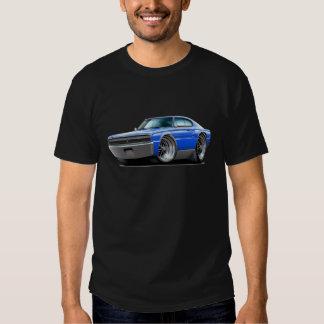 1966-67 Charger Blue Car Tee Shirt
