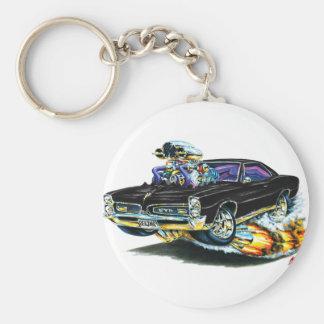 1966-67 GTO Black Car Key Ring