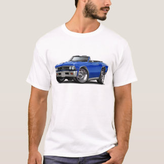 1966 Chevelle Blue Convertible T-Shirt