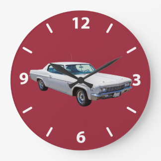 1966 Chevrolet Caprice 427 Muscle Car Large Clock