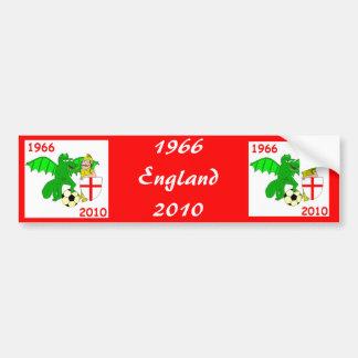 1966 England 2010 Bumper Sticker