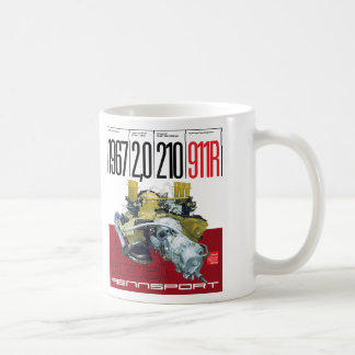 1967 911R 2,0 Liter 210 HP Type 901/22 Engine mug