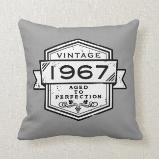 1967 Aged To Perfection Cushion