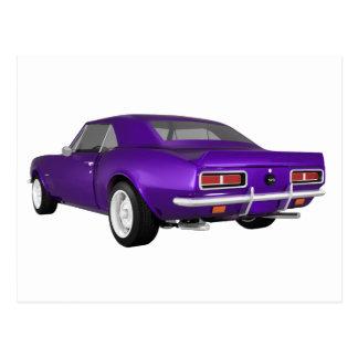 1967 Camaro SS: Purple Finish: 3D Model: Postcard