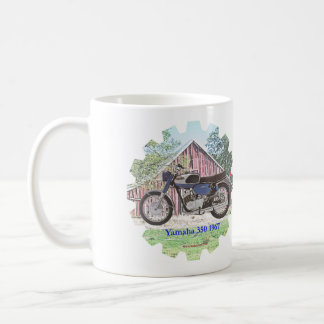 1967 Classic Motorcycle Yamaha Coffee Mug