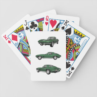 1967 Corvette C2: Bicycle Playing Cards