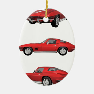 1967 Corvette C2 Christmas Ornament