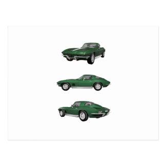 1967 Corvette C2: Postcard