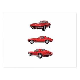 1967 Corvette C2 Postcard