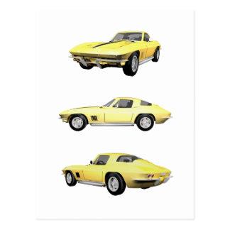 1967 Corvette: Postcard