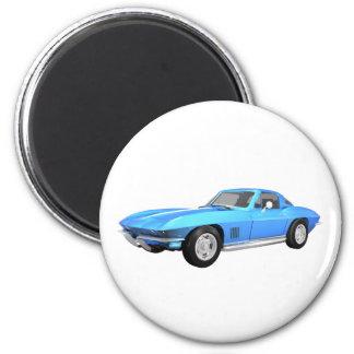 1967 Corvette Sports Car: Blue Finish: Magnet