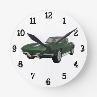 1967 Corvette: Wall Clock