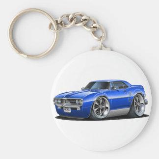 1967 Firebird Blue Car Key Ring