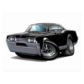 1967 Olds Cutlass Black Car Postcard