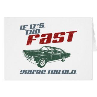 1967 Pontiac GTO Card