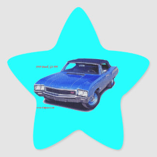 1968 Buick GS 400 Star Sticker