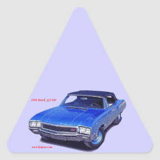 1968 Buick GS 400 Triangle Sticker