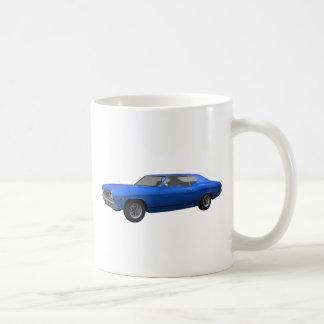 1968 Chevelle SS: Blue Finish Coffee Mug