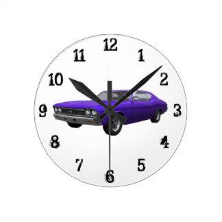 1968 Chevelle SS: Wall Clock