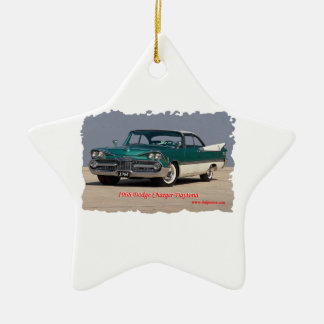 1968 Dodge Charger Daytona Ceramic Star Decoration