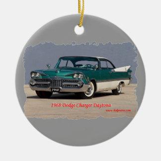 1968 Dodge Charger Daytona Christmas Tree Ornament