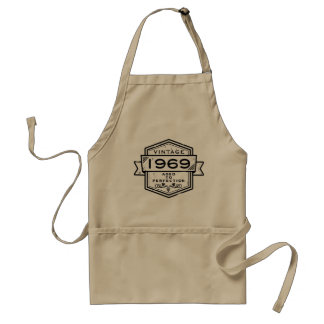 1969 Aged To Perfection Standard Apron
