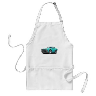 1969 Buick GS Turquoise Car Standard Apron