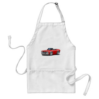 1969 Chevelle Red Convertible Standard Apron