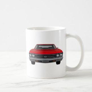 1969 Chevelle SS: Red Finish Coffee Mug