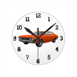 1969 Chevelle SS: Wall Clock