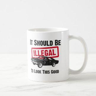 1969 Dodge Charger R/T SE Basic White Mug