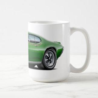 1969 GTO Judge Green Car Coffee Mug
