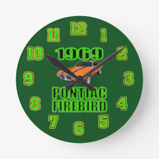 1969 Pontiac Fire Bird Clock. Clocks