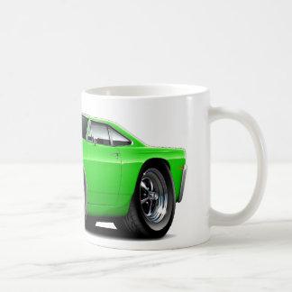 1969 Roadrunner Lime Car Coffee Mug