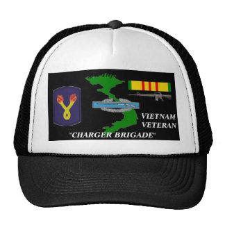 196th Light Brigade Charger Brigade Ball Caps Trucker Hat