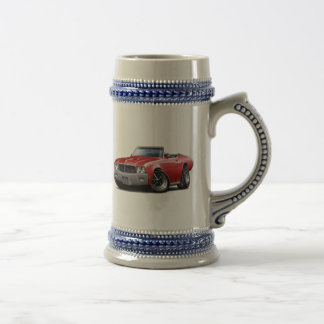 1970-72 Buick GS Red Convertible Beer Stein