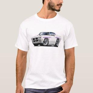1970 GTO Judge White Car T-Shirt