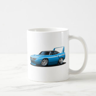 1970 Plymouth Superbird Blue Car Coffee Mug