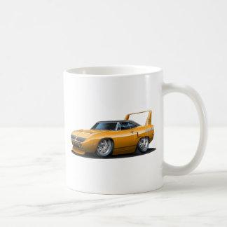 1970 Plymouth Superbird Orange Car Coffee Mug