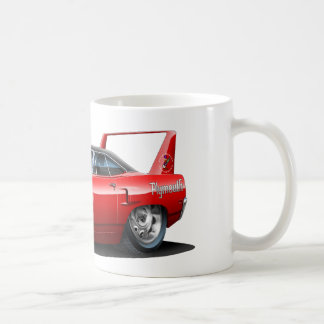 1970 Plymouth Superbird Red Car Coffee Mug