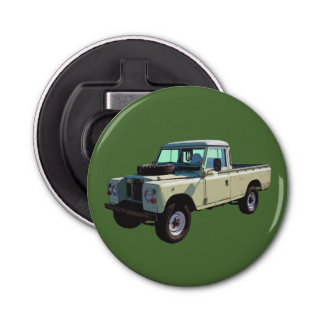 1971 Land Rover Pickup Truck Bottle Opener